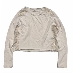 Hollister Lace Detail Sweater